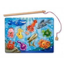 Magnetic Puzzle Games - Fishing