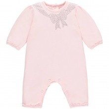 Girls Pink Babygrow Margot (1760)