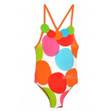 Multicoloured Spot Swimsuit