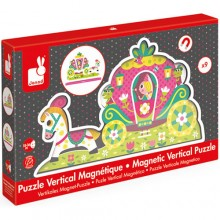 Princess Magnetic Vertical Puzzle