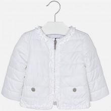 Padded Windbreaker Jacket - White (1436)