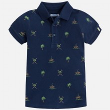 Short Sleeve Polo Shirt  - Navy (3130)