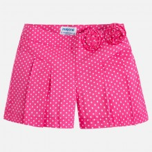 Spotty Poplin Shorts - Fuchsia (3204)