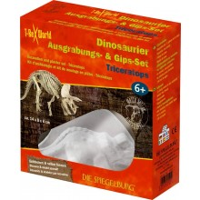 Dinosaur Excavation and Plaster Set - Triceratops