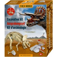 Large Excavation Kit - Triceratops