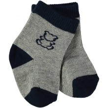 Alpine - Navy Boys socks (4620)