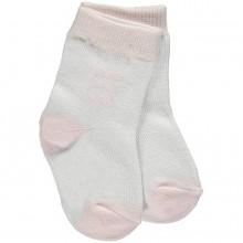 Anya - Pink Girls Socks (4621)