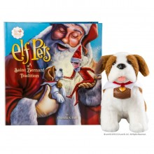 Elf on the Shelf - Elf Pets - Saint Bernard