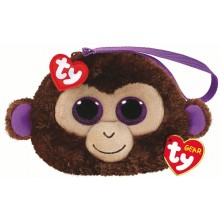 Coconut Monkey - Wristlet