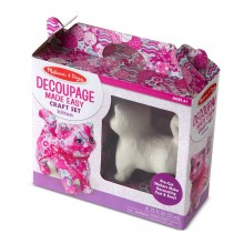 Decoupage made easy -Kitten