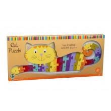 Puzzle Alphabet Cat