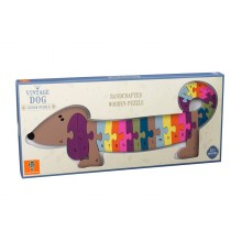 Puzzle Alphabet Dog