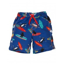 Surfing Dogs Swimming Trunks