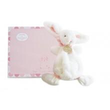 Pink Rabbit Doudou Comforter