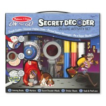 Secret Decoder - Deluxe Activity Set