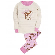 PJ Set (Appl) - Soft Deers