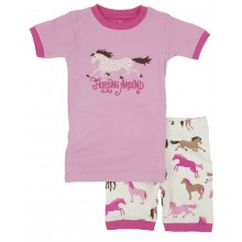 Hearts & Horses Short Pj's