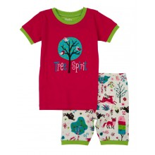 Short PJ Set - Mystical Forest