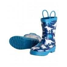 Rainboots - Silhouette Dinos