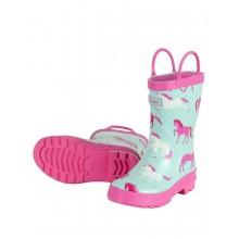 Rainboots - Ponies & Polka dots