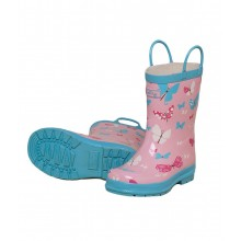 Rainboots - Flying Butterflies