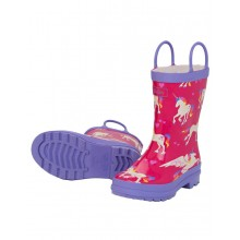 Rainboots - Unicorns and Rainbows