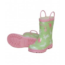 Rainboots - Pretty Bunnies