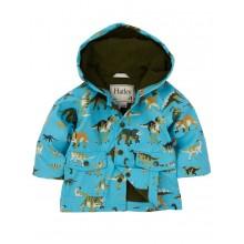 Infant Raincoat - Wild Dinos
