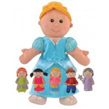 Cinderella Hand & Finger Puppet Set