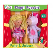 Fairy and Unicorn Finger Puppets