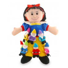 Snow White & 7 Dwarfs Puppet Set