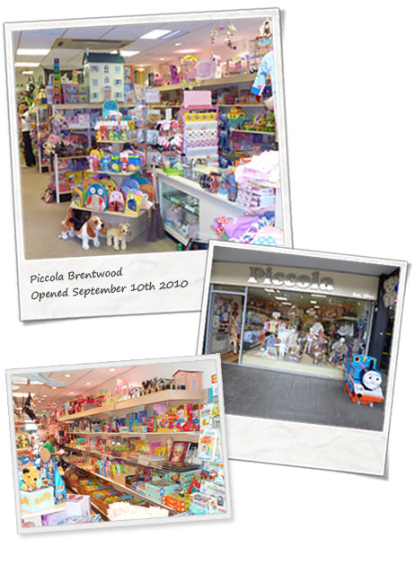 Piccola Brentwood, Brentwood Highstreet, CM14 4AB, Essex, Essex Toy Shop
