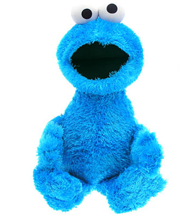 cookies monster, sesame street, cuddly toy, soft toy, childrens toy