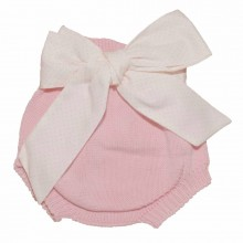 Short Pants with Bow - Pink (08331A)
