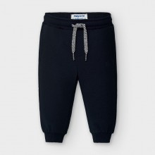 Infant Boys Fleece Cuffed Trouser 704 (Navy)