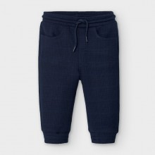 Infant Boys Soft Fleece Trousers 2583 (Navy)