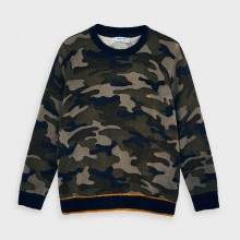 Boys Camouflage Jumper 4327