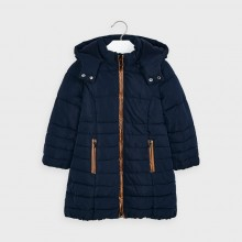 Girls Coat 4415 (Navy)