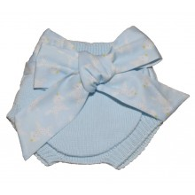 Short Pants with Bow - Blue (10331A)