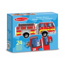 Giant Fire Engine Shaped Puzzle