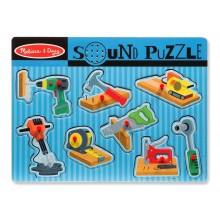 Sound Puzzle - Construction Tools