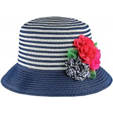 Striped Hat - Navy (10972)