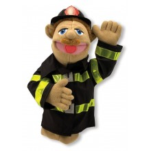 Fire Fighter Puppet