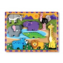 Chunky Puzzles Safari Animals