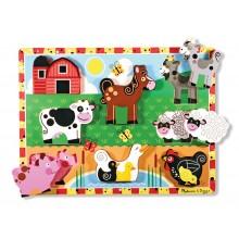 Chunky Puzzles Farm Animals