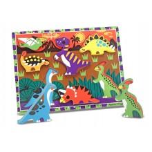 Chunky Puzzles Dinosaurs