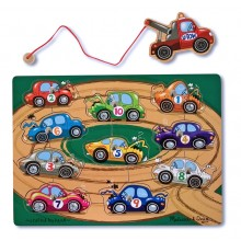 Magnetic Tow Truck Puzzle