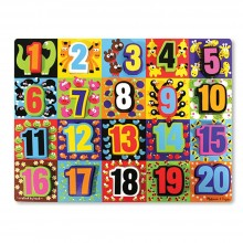 Chunky Puzzle - Jumbo Numbers