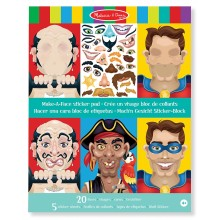 Crazy Characters Sticker Pad