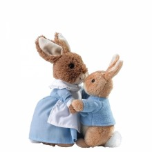 Mrs Rabbit & Peter